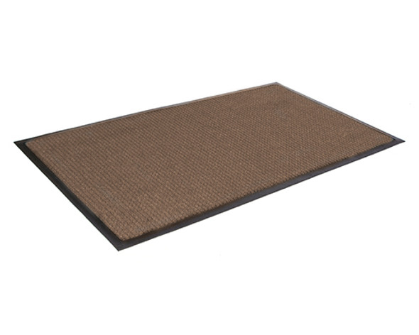 Super Soaker Smooth Back Mat 3'x4' - Dark Brown