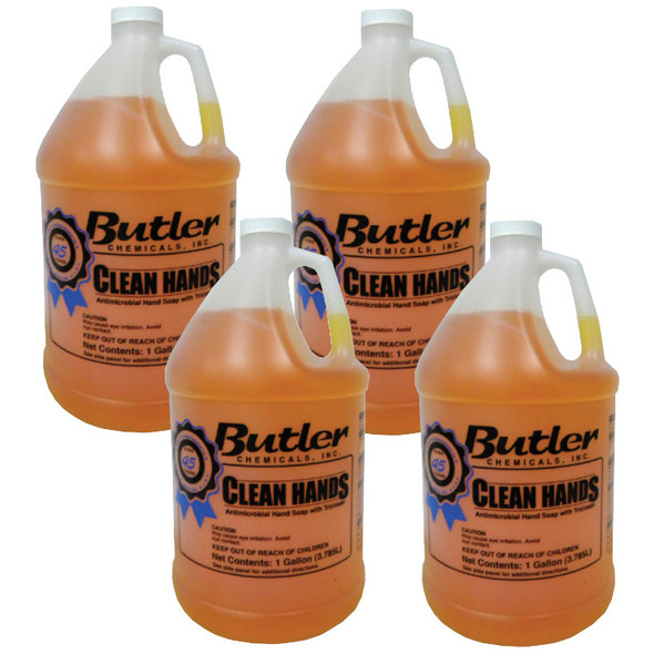 Butler Clean Hands Antimicrobial Hand Soap with Triclosan
