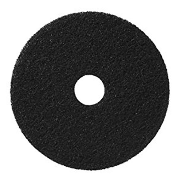 3M Black Stripper Pad 7200, 20""