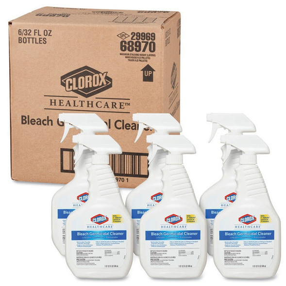 Clorox Healthcare Bleach Germicidal Cleaner (6/case)