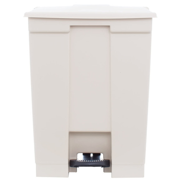 Rubbermaid Legacy 18 Gal Step-On Container, Beige