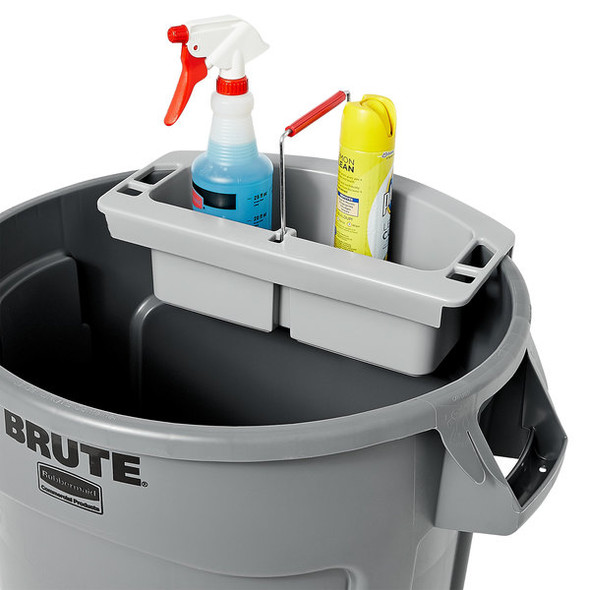 Rubbermaid BRUTE Maid Caddy, Gray