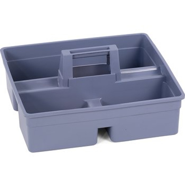 Tool Caddy For Janitorial Cart  - Gray