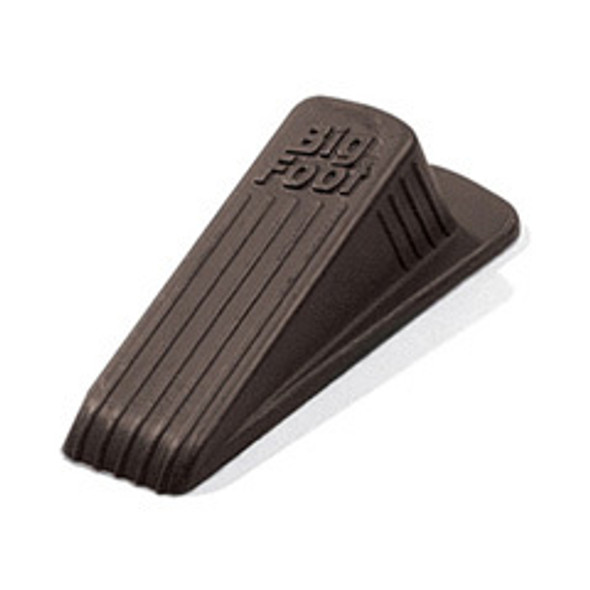 "DOOR STOP BIG FOOT BRO 00920 MST 2.25X4.75X1"" E"