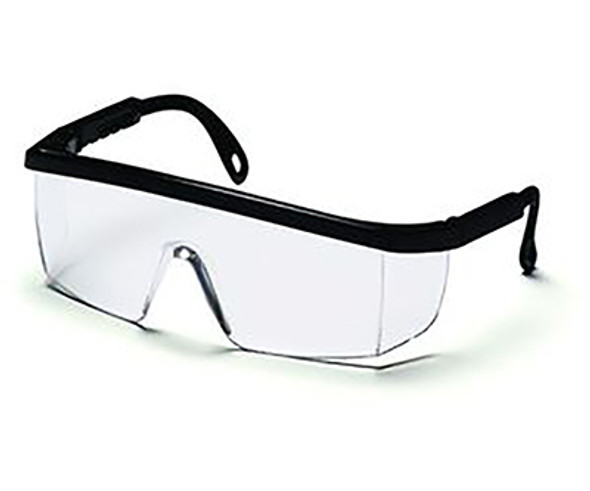 Safety Glasses, wrap around design, scratch resistant, 99.9% UV protection, 12