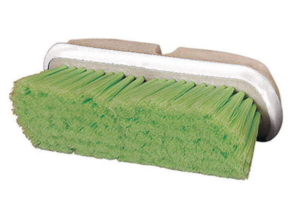 """West Coast Brush 10"""" Flagged Fill Brush with Bumper, Green"""