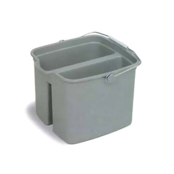 PAIL 16qt HUSKEE DIVIDED 8216 CON 6/CS