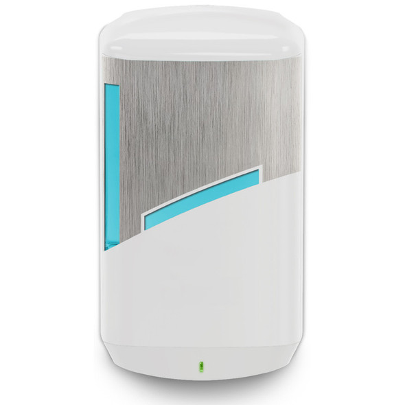 Primory CB6 Dispenser, Brushed Metallic/ White