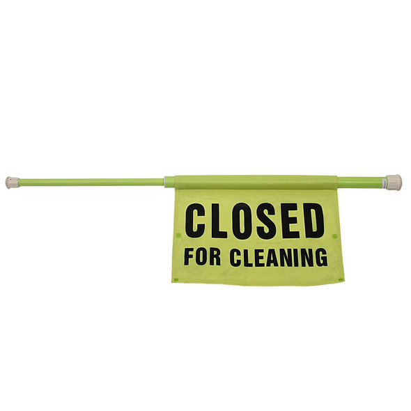 """9175I """"Closed for Cleaning"""" Safety Pol"""