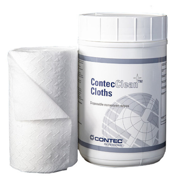 """Contec ContecClean 6"""" x 9"""" Cloth with Canister"""