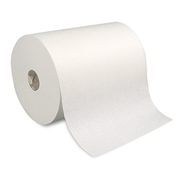 GP PRO SofPull High-Capacity Recycled Paper Towel Roll, White