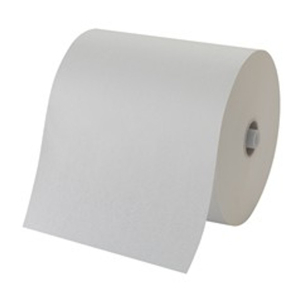 "GP PRO Pacific Blue Ultra 8"" Recycled Paper Towel Roll, White, 6/1150"