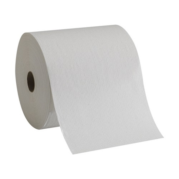 GP PRO Pacific Blue Basic Recycled Paper Towel Roll, White 6/800