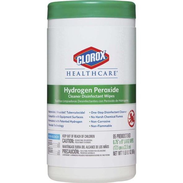 Clorox Healthcare Hydrogen Peroxide Wipes (95 Wipes)