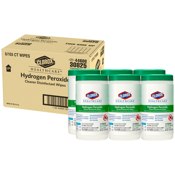 Clorox Healthcare Hydrogen Peroxide Wipes (155 Wipes)