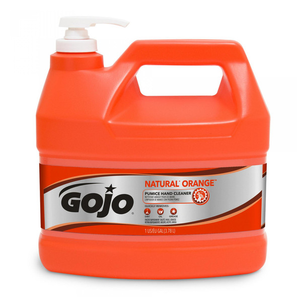 GOJO Natural Orange Pumice Hand Cleaner (4 Gallons per case)