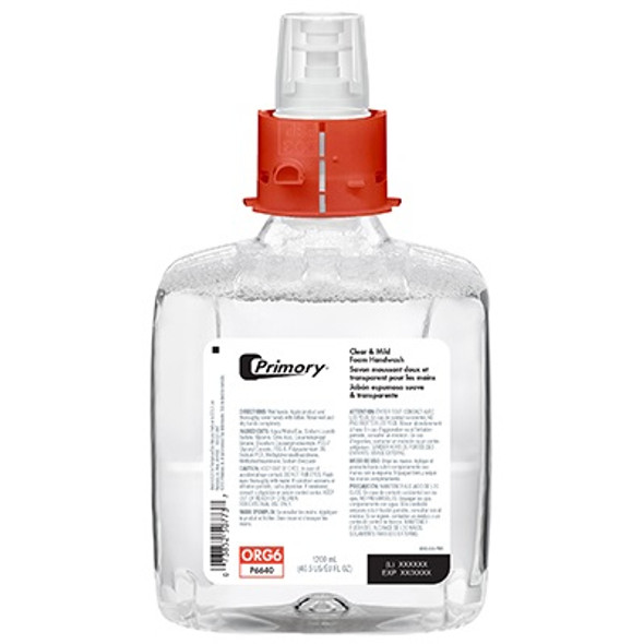Primory Clear and Mild Foam Handwash for CB6