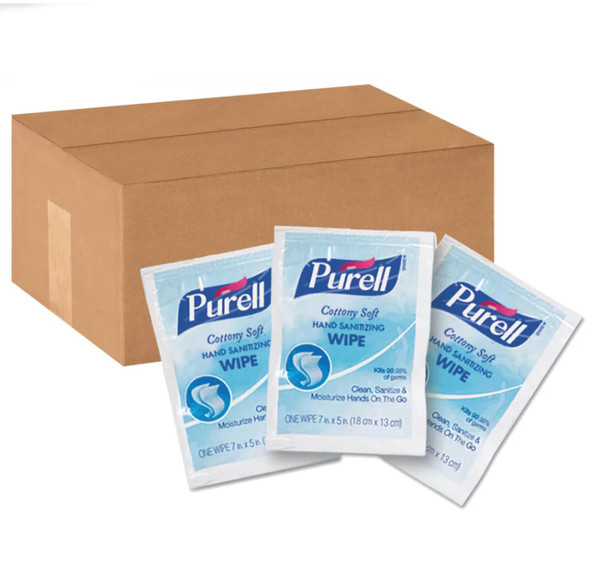 PURELL Cottony Soft Hand Sanitizing Wipes (1,000 per case)