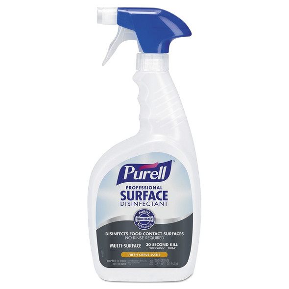 Purell Professional Surface Disinfectant, 32 oz.