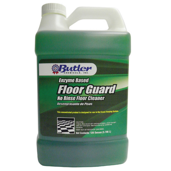 Butler Floor Guard  Enzyme Based No Rinse Cleaner Degreaser (Gallon)