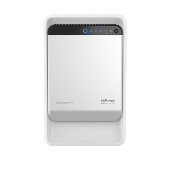 This particular air purifier features a 4 stage filtration system to eliminate a variety of airborne contaminants. It also boasts patented EnviroSmart technology, which monitors the environment and adjusts operation based on the environmental condition. This ensures maximum performance so that you can conduct business in comfort.