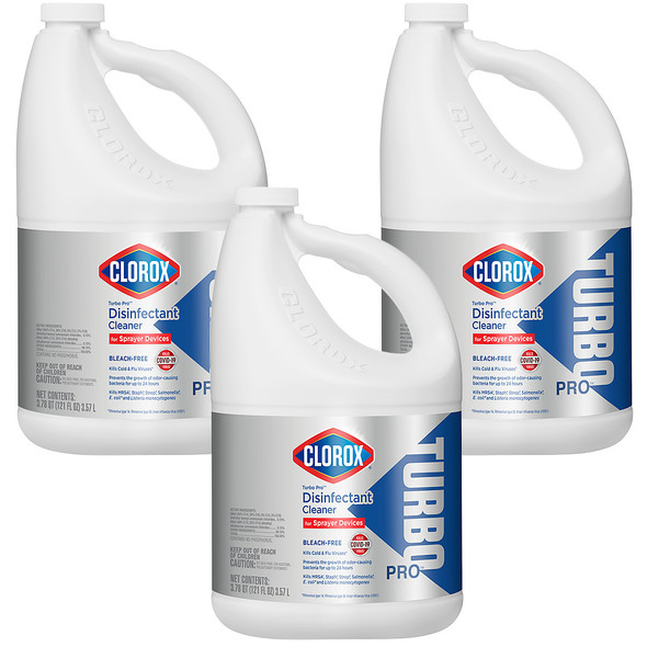 Clorox Turbo Pro Disinfectant Cleaner for Sprayer Devices (121 oz)