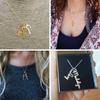 Venus Family Pendant  Charm Necklace