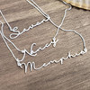Personal Signature Style Dainty Name Necklace