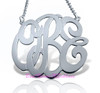 Interlocking Monogram Necklace 4 sizes to choose from