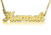 Hannah Name Necklace