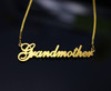 Cursive Style Silver Name Necklace (Lindsay)