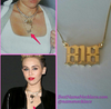 Miley Cyrus 818 Necklace