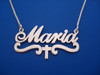 Name necklace personalized with any name