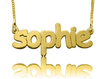 Comic Script Name Necklace