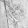 Monogram Necklace Classic Style