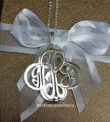Cross Monogram Necklace, our new addition!