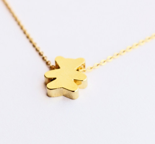 Bear Layering Necklace