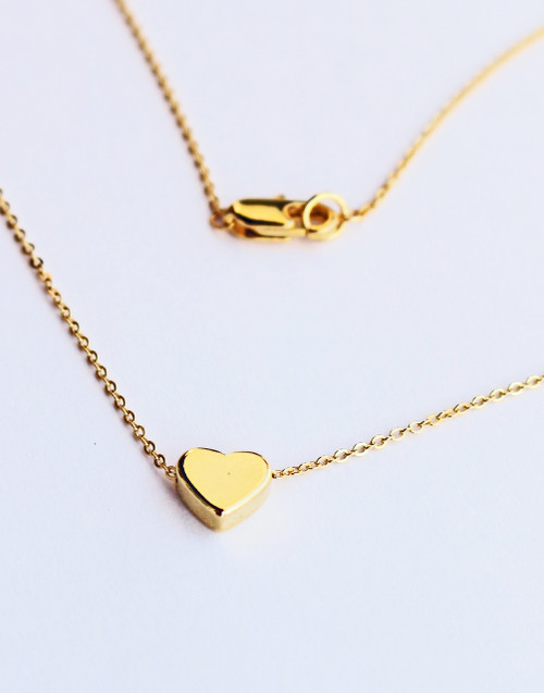 Valentin  Layering Heart Necklace