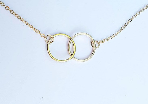 Unity and Love Circle Layering Necklace