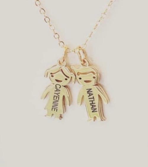 Mom  Pendant  Charm Necklace
