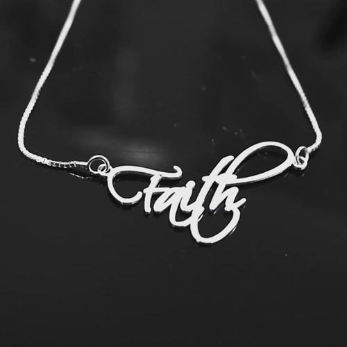 Faith Name Necklace || BestNameNecklace