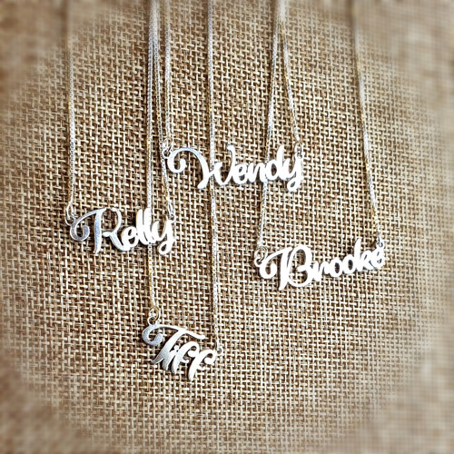 Personalized Candy Name Necklace