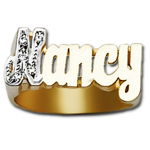 Name Ring Nancy Style