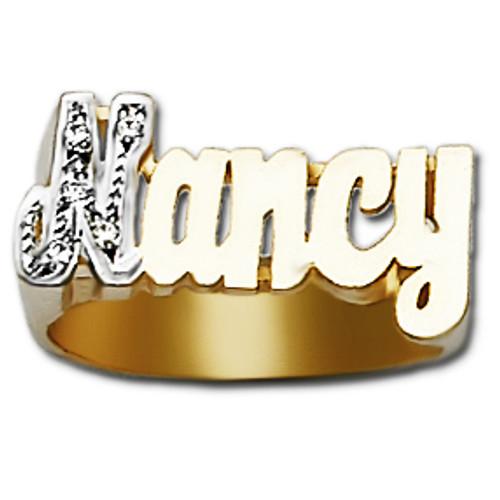 Name Ring Nancy Style
