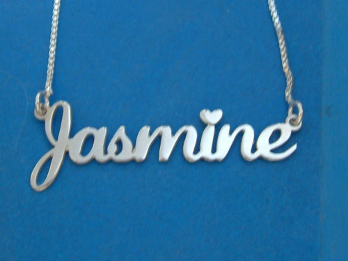 Nameplate necklace custome made