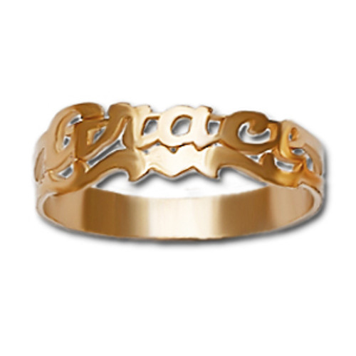 Personalized Name Ring pr03s