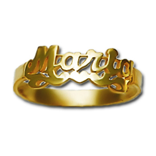 Personalized Name Ring PTB04