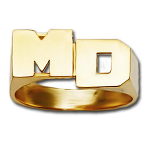 8 mm Personalized Initials Ring R827