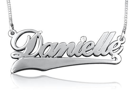 Danielle Name Necklace