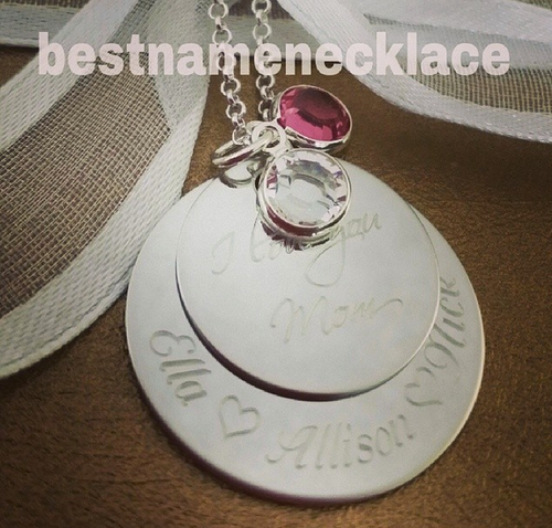 Mother's Love Engraved Disks